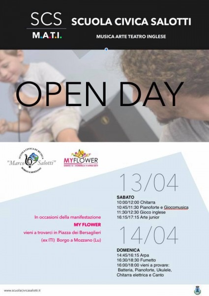 OPEN DAY per My Flower 2019